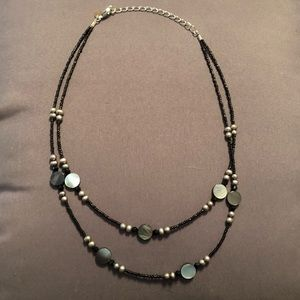 Jewelry - Black and gray necklace